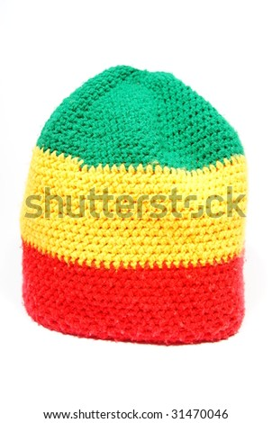 Rasta cap - stock photo
