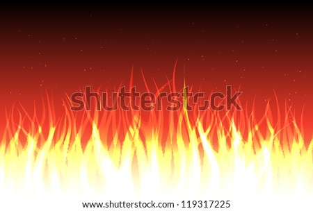 raster abstract fire background, vector version available
