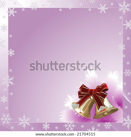 Raster. Holiday Postcard. Look for the same vector in my portfolio - stock photo