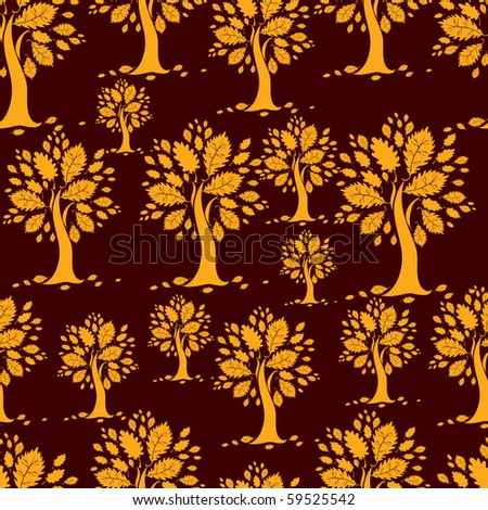 "RASTER Seamless autumn pattern. Thanksgiving (from my big ""Seamless collection"")"