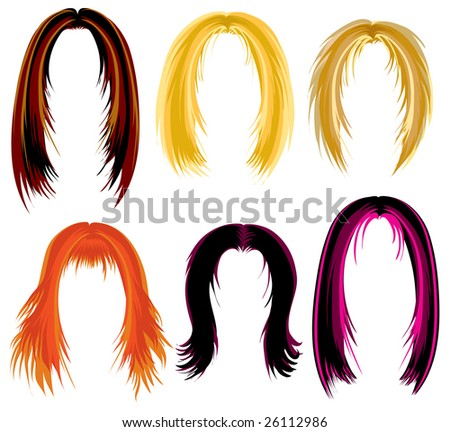 hairstyles for medium length natural hair : Stock Photos, Royalty-Free Images & Vectors - Shutterstock