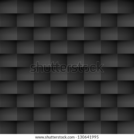 Raster version. Abstract Cell textures in black. Illustration for creative design - stock photo