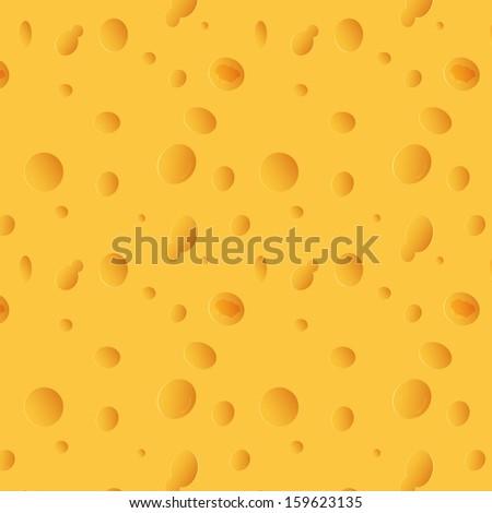 raster version cheese seamless texture - stock photo
