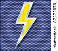 raster version. lightning for your design - stock photo