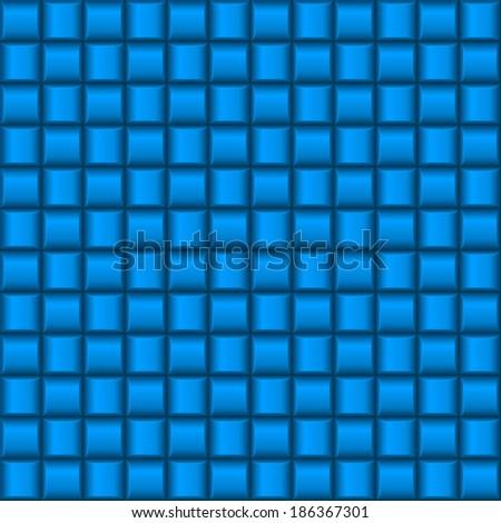 Raster version. Metalic blue industrial texture. Illustration for creative design - stock photo