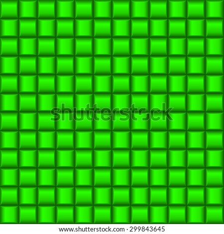 Raster version. Metalic green industrial texture. Illustration for creative design - stock photo