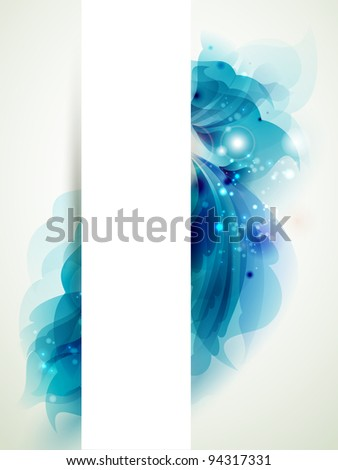 raster version of Abstract background with blue elements