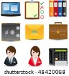 raster version of s Icons for Buisness & Office use - stock photo