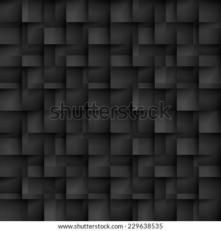 Raster version. Seamless texture pattern of black color in the form of cells  - stock photo