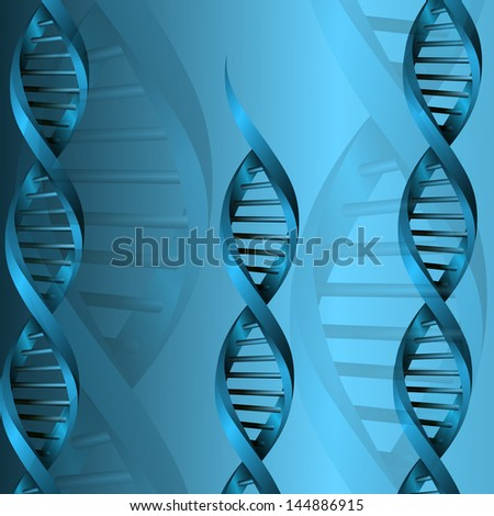 rasterized DNA molecule structure background illustration. bitmap of vector version. see for vector version in my portfolio
