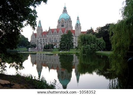 Rathaus - Hannover, Germany - stock photo