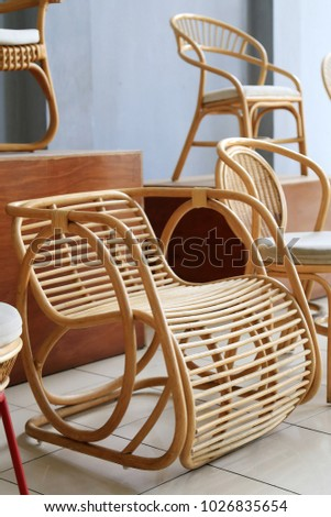 Rattan Chair Design Stock Photo Image RoyaltyFree 1026835654