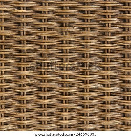 rattan texture background - stock photo