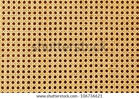 Rattan texture for use as background - stock photo