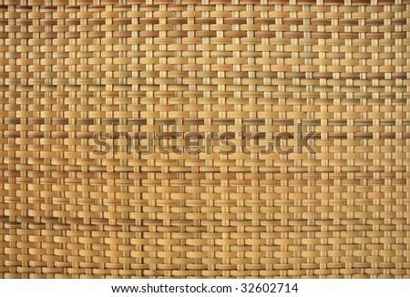 rattan weave background - stock photo