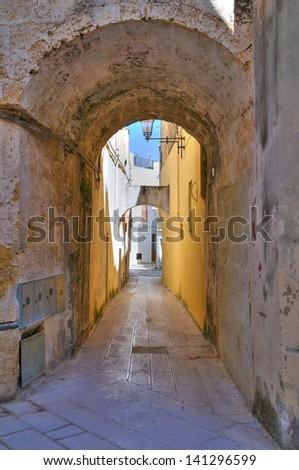 Ravelin. Alessano. Puglia. Italy. - stock photo