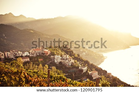 Ravello, Amalfi Coast, Italy. - stock photo