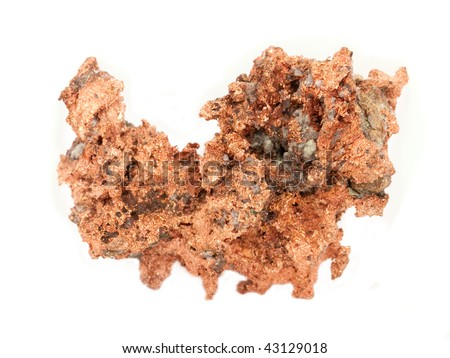 Raw Copper Ore - stock photo