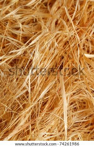 Raw Jute for handicraft - stock photo