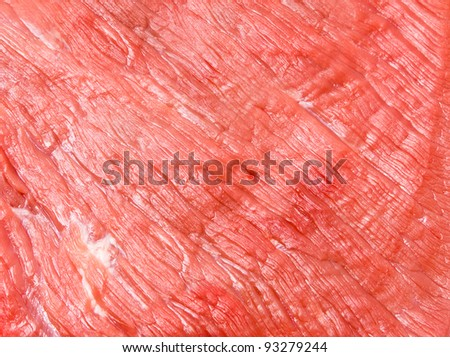 Raw meat texture - stock photo