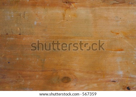 Raw old wood texture, in fact it's the back side of an old russian icon, - stock photo