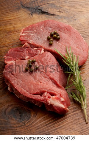 raw tenderloin - stock photo