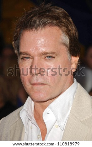 "Ray Liotta at the Los Angeles Opening Cirque Du Soleil's ""Corteo"". The Forum, Los Angeles, CA. 08-24-07"