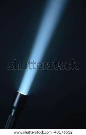 ray of spotlight - stock photo