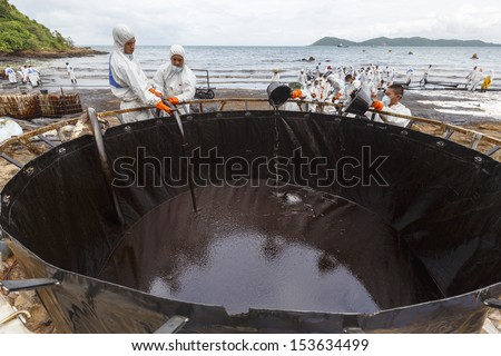 how to clean crude oil