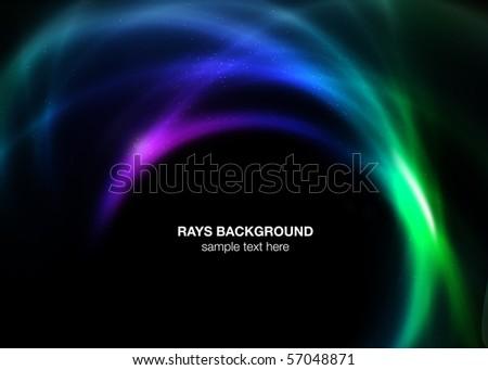 Rays background - stock photo