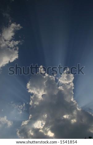 Rays of Sunlight - stock photo