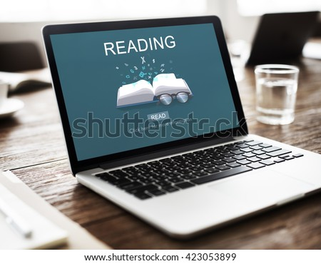 Read Reading Book Knowledge Leisure Concept - stock photo