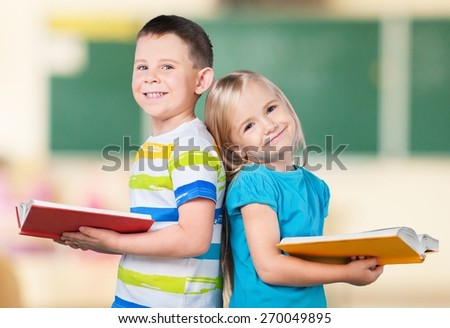Reading, Child, Book. - stock photo