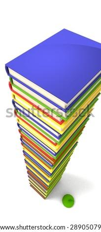 reading for exams - stock photo