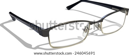 Reading Glasses. - stock photo
