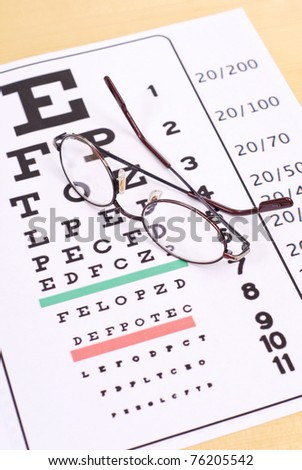 Reading Glasses - stock photo