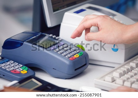 Reading the Credit card at the Credit Card Reader