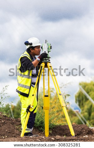 READING, UK - AUGUST 21: Building River Thames Pedestrian cycle bridge in Reading UK - stock photo