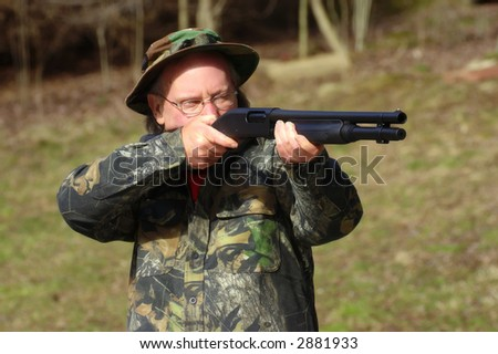 Ready, aim, fire! - stock photo