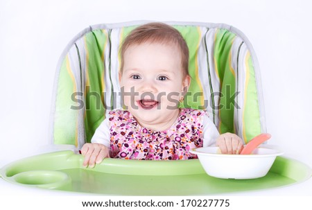 Ready for dinner baby - stock photo