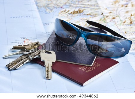 Ready for holiday - stock photo