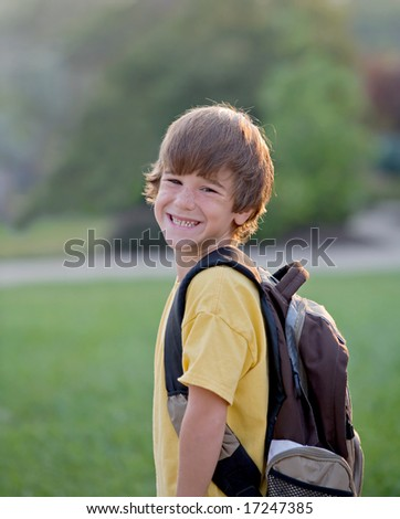 Ready For School - stock photo