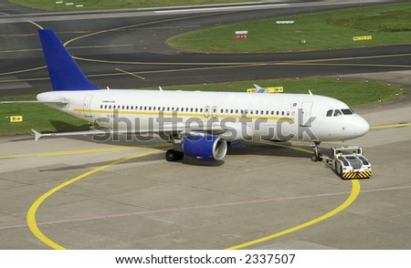 Ready for take off - stock photo