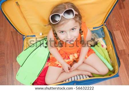 Ready for travel - stock photo