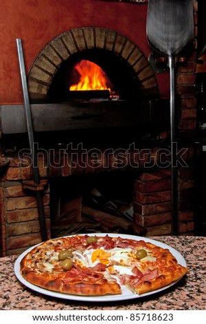 Brick oven Stock Photos, Illustrations, and Vector Art