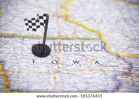 Ready to race in Iowa? - stock photo