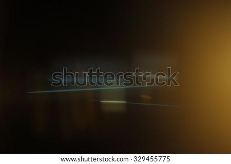 Real Anamorphic Lens Flare - stock photo