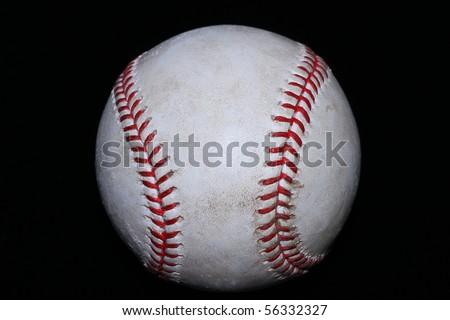 Real Baseball - stock photo