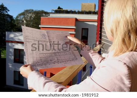real estate - stock photo
