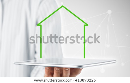 Real estate and property sales - stock photo